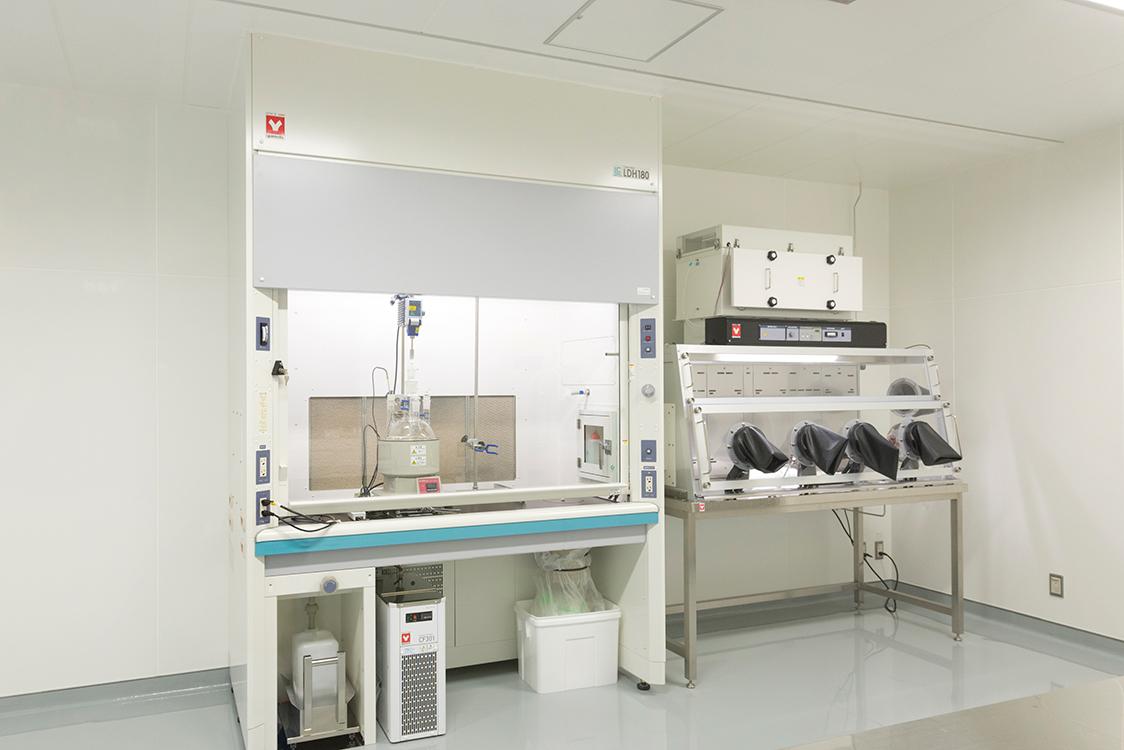ハザード&クリーン対応実験室